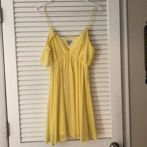 Yellow tobi dress